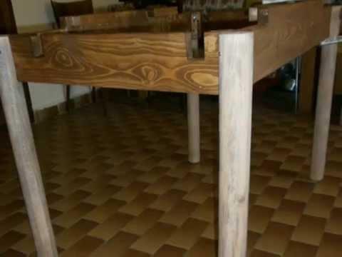 Come costruire un tavolo da pranzo allungabile | Fai da Te Mania