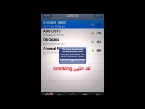 HOW TO HACK WIFI PASSWORDS USING 5dWIFI IPOD IPHONE IPAD
