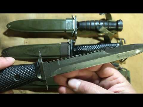 M4 and M5 Bayonets - YouTube