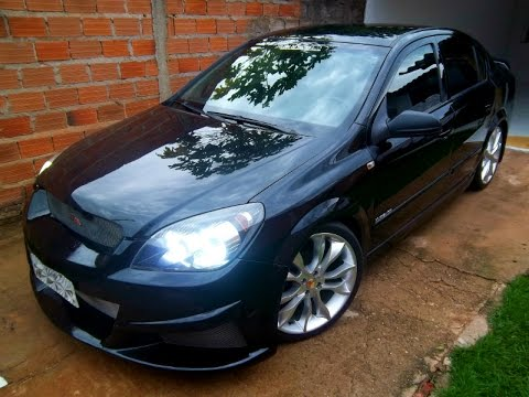 vectra tuning aro 19 rebaixado som escape dimensionado