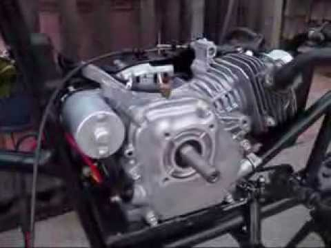 hqdefault electric start youtube honda gx270 electric start wiring diagram at panicattacktreatment.co
