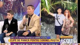 Repeat youtube video Sorinel Puştiu a dat de belea! Blocat într-o barcă, pe mare, împreună cu soţia lui!