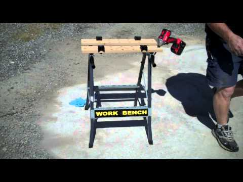 Harbor Freight Foldable workbench +vise Item # 47844