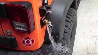Pressurized Running Water on Jeep Wrangler JK