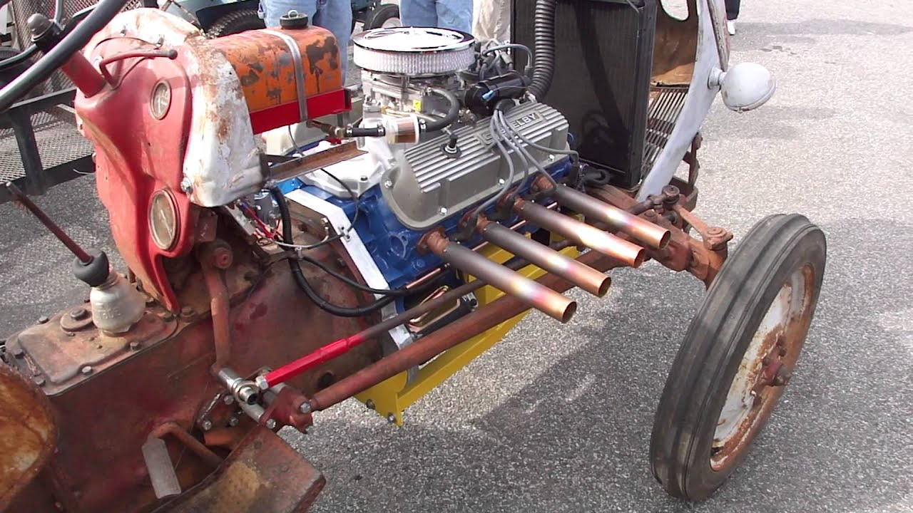 Ford 8n With 1965 Ford 302 V8 Engine
