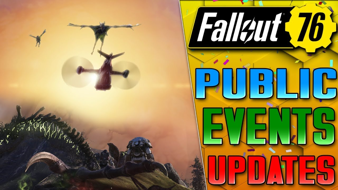 EVENTS FINALLY GETTING FIXED - FALLOUT 76 DLC UPDATES
