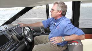 Prestige 500S  2011 Motoryacht  - Performance and Handling Test - By BoatTest.com.mp4
