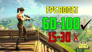ULTIMATE FPS BOOST TUTORIAL | FORTNITE and all games! +50FPS[NEW]