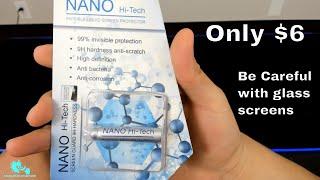 Nanotechnology Hi Tech Liquid Screen Protector Drop and Scratch Test (Ebay) Glass Hurts