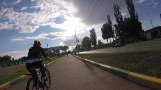 Спорт начинается с GoPro / GoPro HERO 5 session / летний Мичуринск глазами велосипедиста