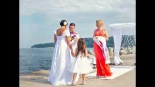 Свадьба в Болгарии на море в Варне на маяке