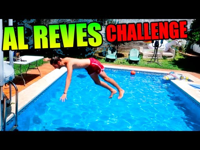 AL REVES CHALLENGE !! (EDICION PISCINA) Makiman