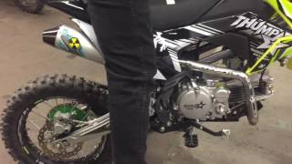 how to stop your 140cc to 190cc kick back   advance retard the timing
