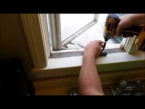 How To Replace An Andersen Window Crank