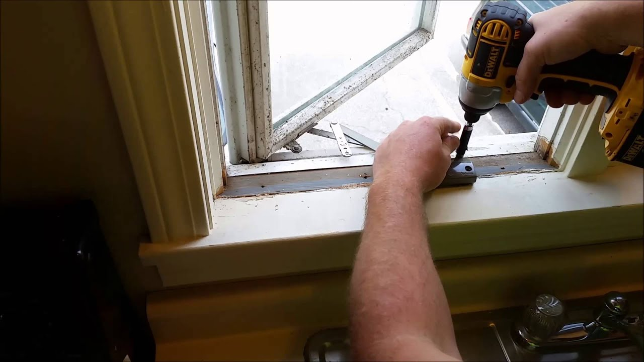 how to replace an andersen window crank youtube