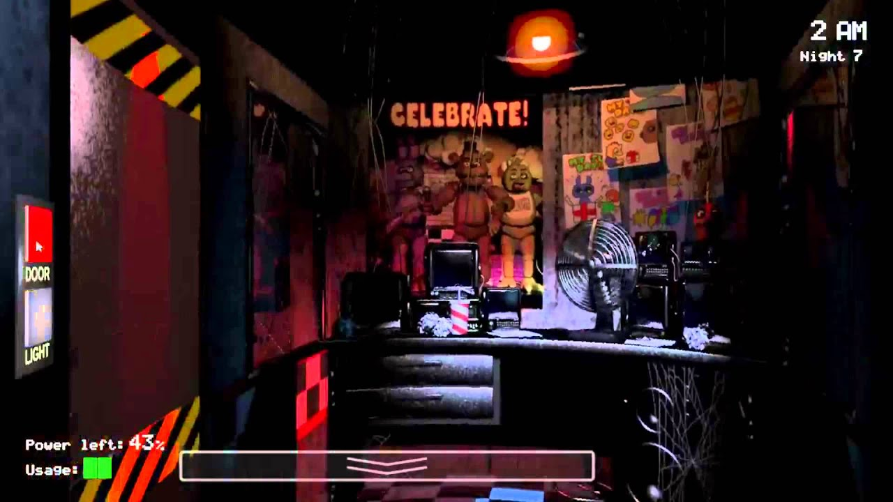 Five Nights At Freddys Background -