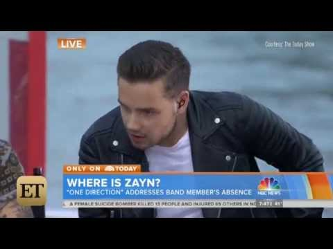 Zayn Malik Drug Abuse Questioned on Today Show - One Direction Interview