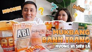 Mukbang Bánh Tráng Trộn Hương Vị Kì Lạ Vlog 146
