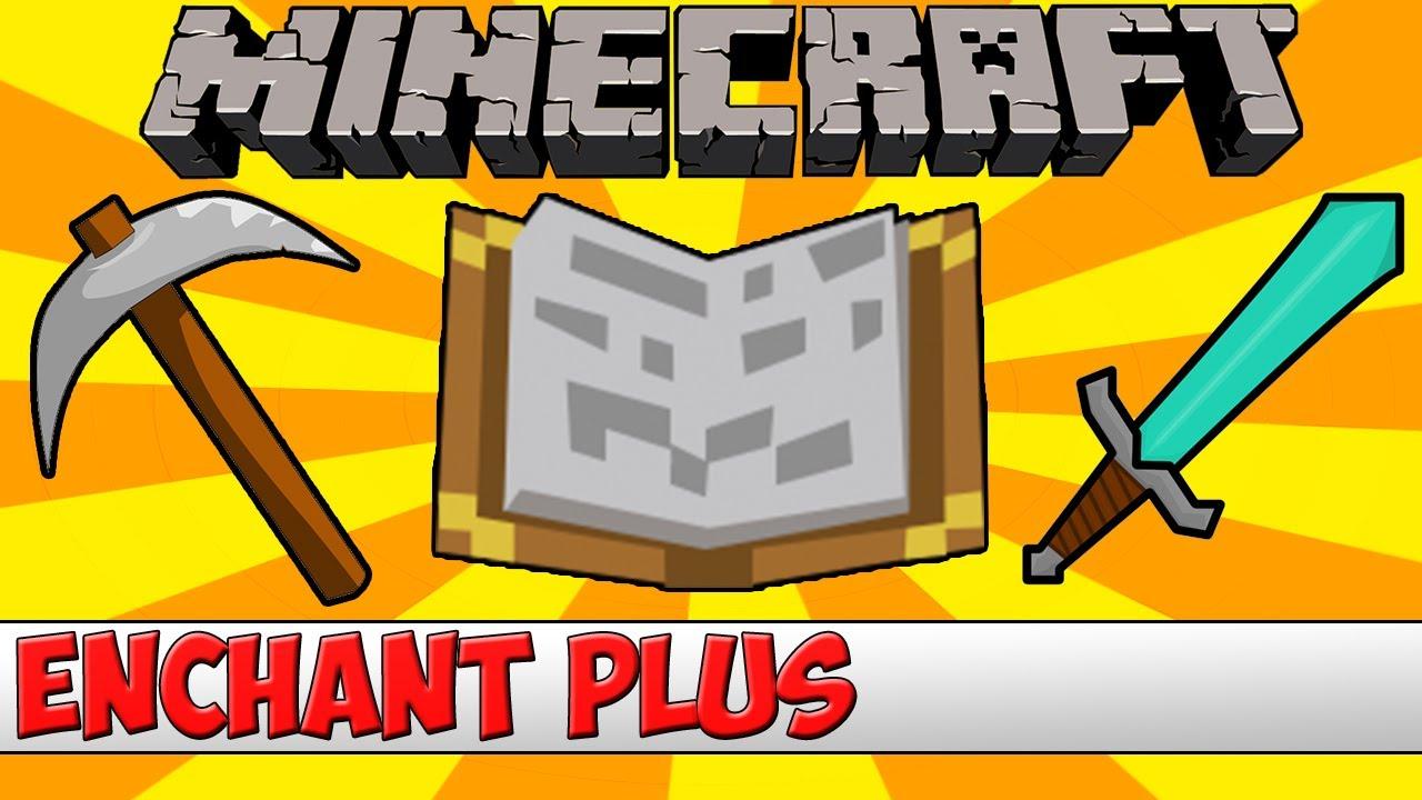 Minecraft Bukkit Plugin - Enchant Plus - Tutorial