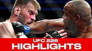 UFC 226 Highlights! Daniel Cormier Knocks Out Stipe Miocic, Becomes Two-Division Champion