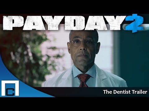PAYDAY 2: The Dentist Trailer - Дантист (Русские субтитры)