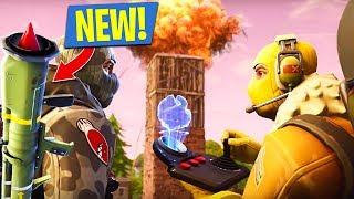 *NEW UPDATE* FORTNITE GUIDED MISSILE!! (Fortnite Battle Royale) thumbnail