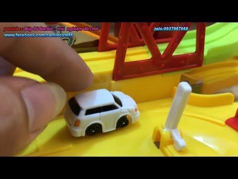 ĐỒ CHƠI TRẺ EM OTO hoat hinh VÀ ĐƯỜNG ĐUA SIÊU TỐC – TOYS KIDS REVIEW vương quốc đồ chơi đồ chơi xe