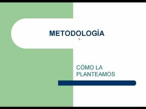 Cómo Realizar La Metodología De Su Propuesta De Investigación