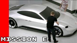 Porsche Mission E Unveiling, Design, Performance, Interior