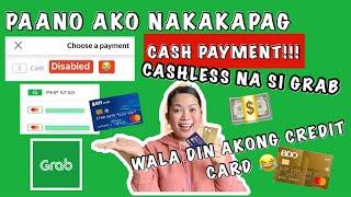 GRAB SECRET CASH PAYMENT SETTING 2021  CASHLESS PERO NAGBAYAD NG CASH  ALTHEAMORALES screenshot 3