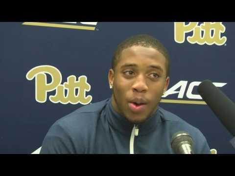 Pitt Football |  Quadree Henderson Postgame at UVA