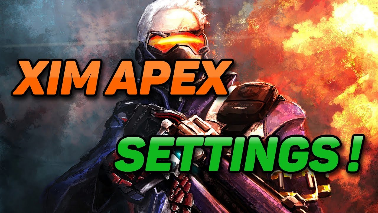 THE BEST XIM APEX SETTINGS FOR OVERWATCH | KUS_SWAT_