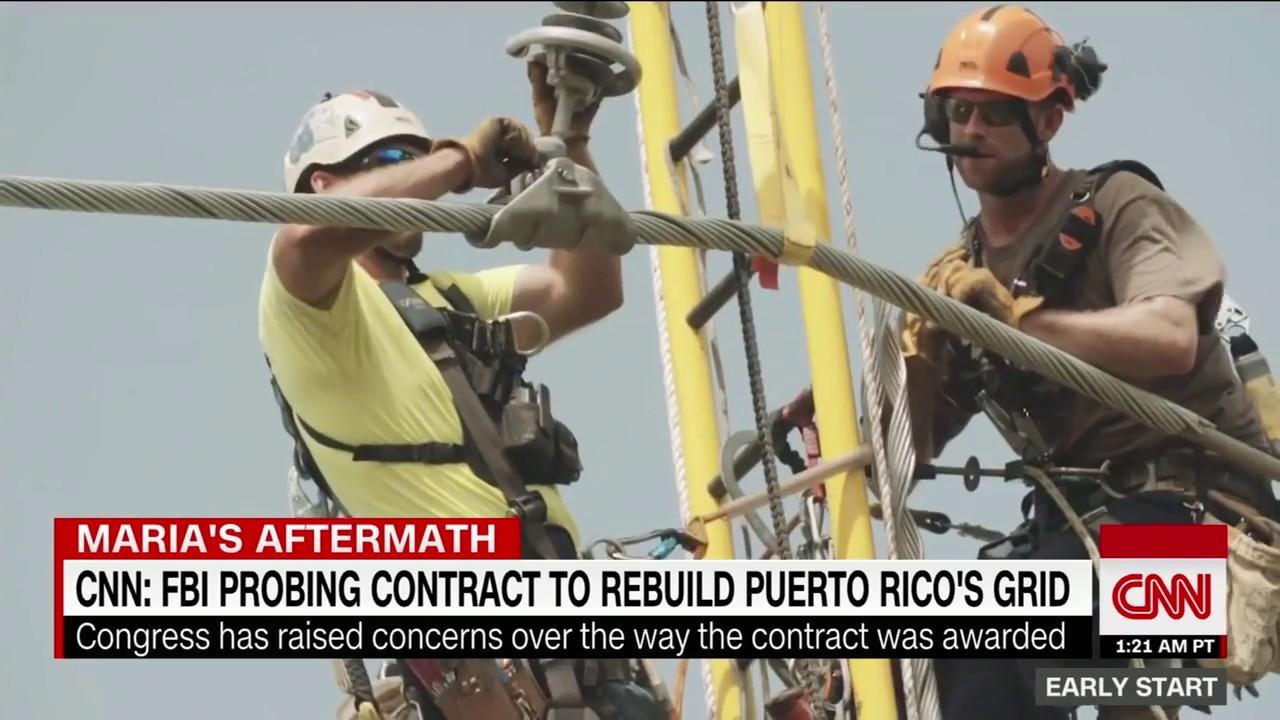 Energy contract in Puerto Rico under scrutiny