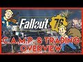 Fallout 76 CAMP & TRADING OVERVIEW!