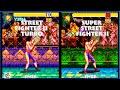 Street Fighter II VEGA Graphic Evolution 1993-1994 (Super Nintendo) SNES