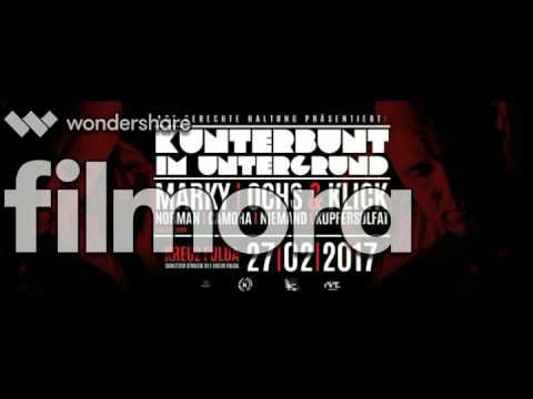 Joey Link - Kunterbunt im Untergrund 27.02.2017 w./ Marky, Ochs & Klick, Norman, Camora, Niemand