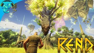REND - Hunting for Food and Learning How to Research Upgrades! E0 Part 2 - REND Gameplay