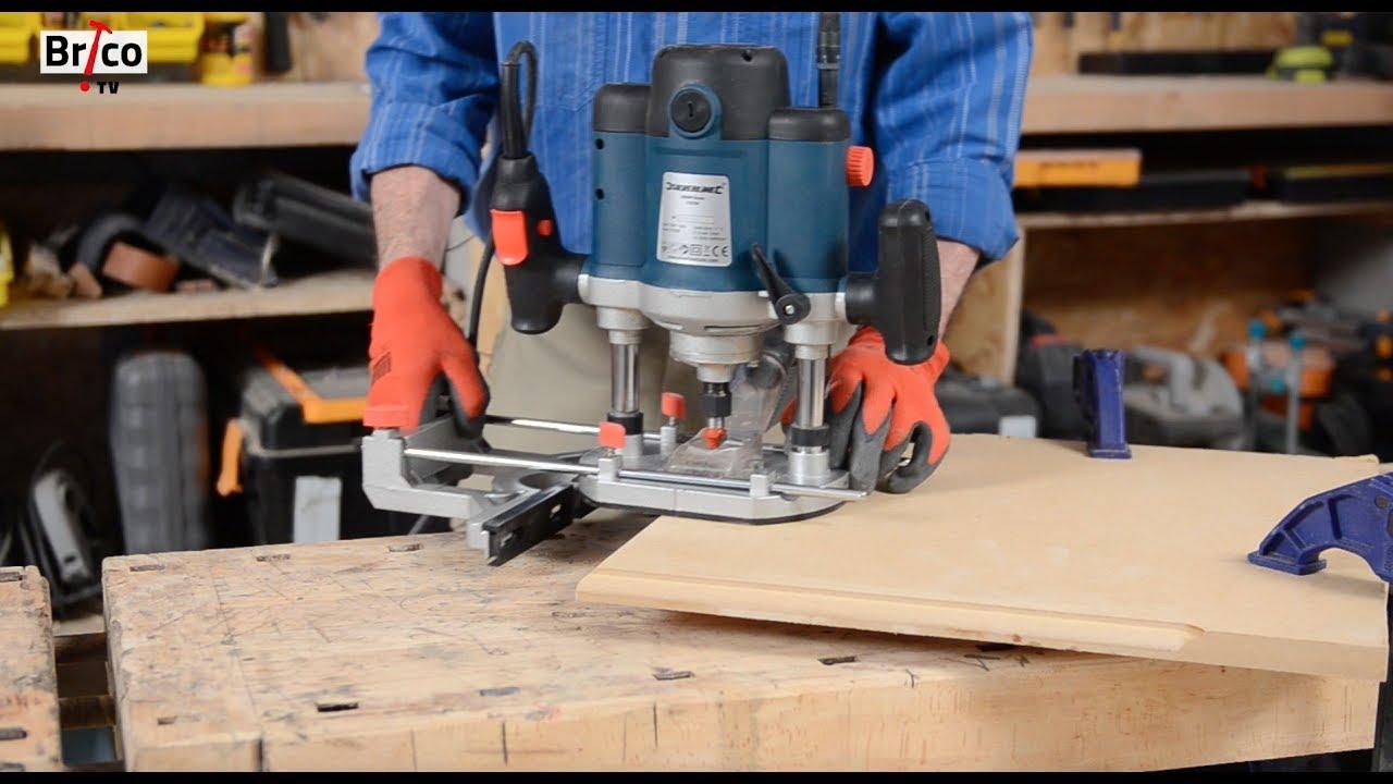 utiliser une d fonceuse tuto bricolage avec robert pour le travail du bois la d fonceuse. Black Bedroom Furniture Sets. Home Design Ideas