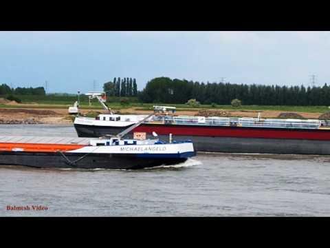 River Traffic on the Rhine (4)