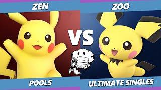 GOML 2020 SSBU - Zen (Pikachu) Vs. Zoo (Pichu) Ultimate Pools