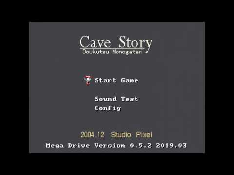 Cave Story Genesis V0 5 2 Real Hardware 2min Preview Youtube
