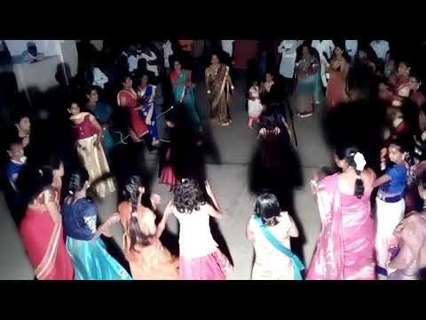 kollapur hanuman youth celebrations of bathukamma 2017