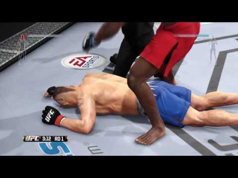 EA SPORTS™ UFC® First Online Match Won As John Jones :P