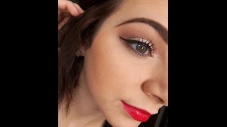 Simple Holiday Makeup Tutorial Thumbnail