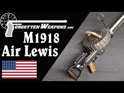 Savage M1918 Aircraft Lewis Gun