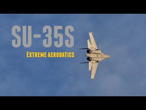 SU-35S Extreme Aerobatics HD