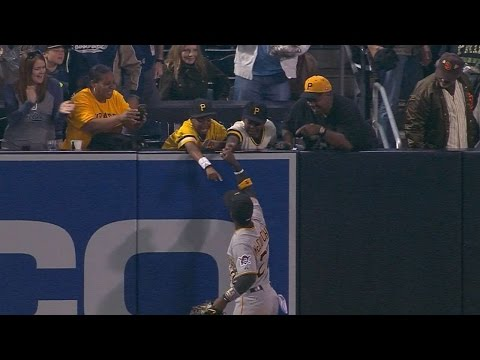 #THIS: Andrew McCutchen Gives Fans His Batting Gloves