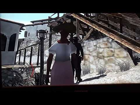 Red dead redemption the legend of the pixel woman in mexico