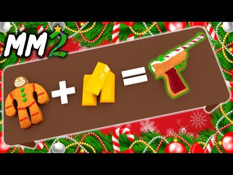 CRAFTING The GINGER LUGER GODLY! (MM2 CHRISTMAS UPDATE)