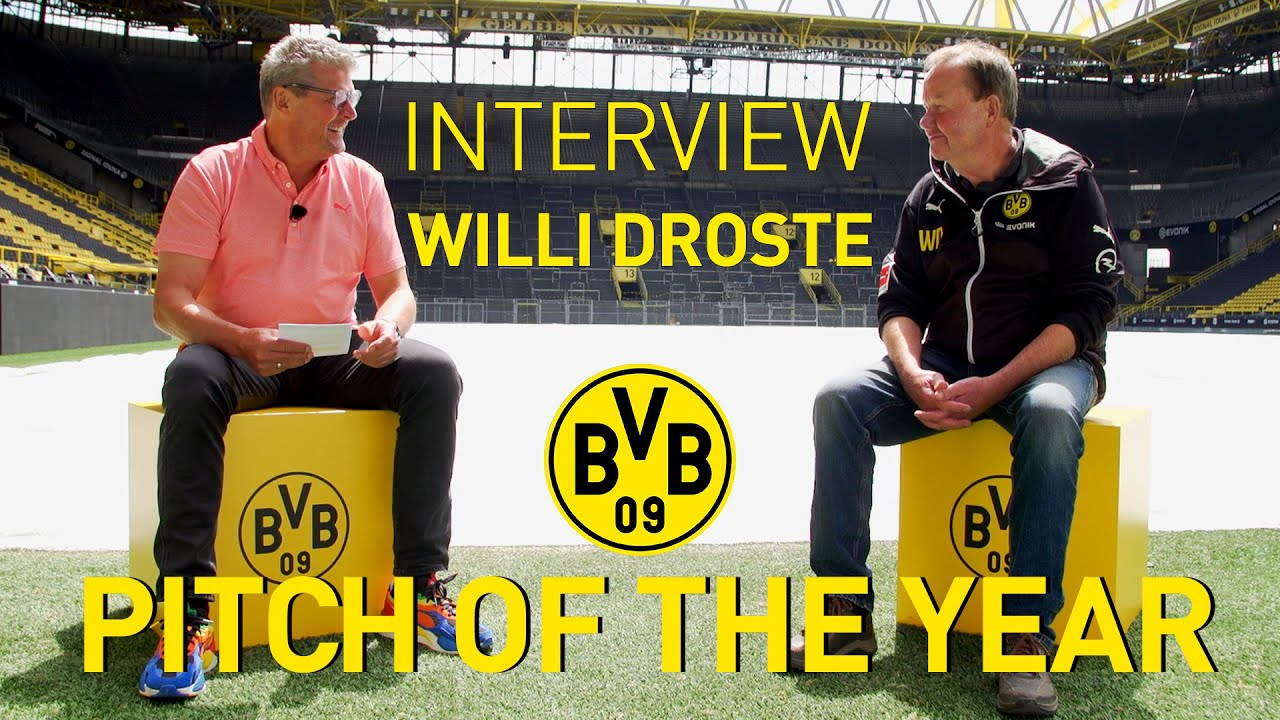 This is why Borussia Dortmunds Pitch is the best in Germany - Interview with Willi Drosten